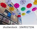 dublin  ireland   april 14th ... | Shutterstock . vector #1069017236
