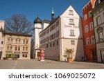 rosenheim  germany   april 8 ... | Shutterstock . vector #1069025072