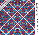 seamless pattern tile | Shutterstock .eps vector #1069033172