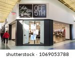 Small photo of Vaughan, Ontario, Canada - March 17, 2018: Saks Fifth Avenue store front at Vaughan Mills mall near Toronto. Saks Fifth Avenue is an American luxury department store.