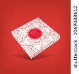 3d packaging design...   Shutterstock .eps vector #1069088612