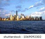 new york city  nyc  skyline...   Shutterstock . vector #1069092302