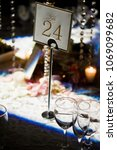 table 24 place setting | Shutterstock . vector #1069099682