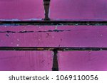 Dark Pink Wooden Planks...