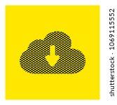 download cloud icon vector   Shutterstock .eps vector #1069115552