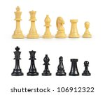 Chess Figure Isolated On The...