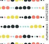 abstract seamless pattern.... | Shutterstock .eps vector #1069123502