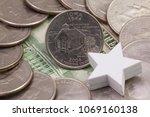 a quarter of iowa  quarters of...   Shutterstock . vector #1069160138