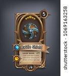card of fantasy battle shield...