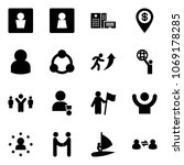solid vector icon set   male wc ...   Shutterstock .eps vector #1069178285