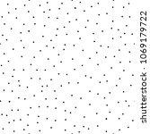 polka dots seamless pattern | Shutterstock .eps vector #1069179722