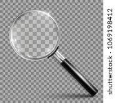 magnifying glass instrument  ... | Shutterstock .eps vector #1069198412