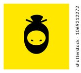 ninja avatar icon vector   Shutterstock .eps vector #1069212272