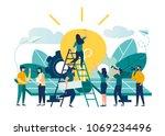 vector illustration.... | Shutterstock .eps vector #1069234496