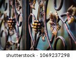 Forged Bunch Of Grapes. Ornate...