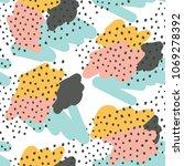 seamless abstract pattern  ... | Shutterstock .eps vector #1069278392