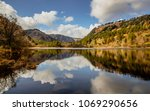 dramatic landscape from the... | Shutterstock . vector #1069290656