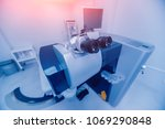 ophthalmic laser system in eye... | Shutterstock . vector #1069290848