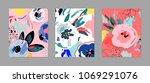 creative universal artistic... | Shutterstock .eps vector #1069291076