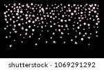 realistic sakura cherry and... | Shutterstock .eps vector #1069291292