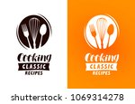 cooking logo or label. food ... | Shutterstock .eps vector #1069314278