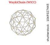 vector waykichain  wicc ... | Shutterstock .eps vector #1069327445