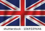 vector of ripple uk flag | Shutterstock .eps vector #1069339646