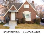 old brick house with multiple...   Shutterstock . vector #1069356305