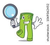 detective pants character... | Shutterstock .eps vector #1069362452