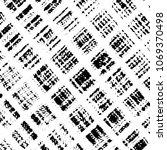 black and white grunge stripe... | Shutterstock .eps vector #1069370498