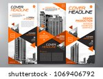 business brochure. flyer design.... | Shutterstock .eps vector #1069406792
