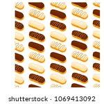 vector icon illustration logo... | Shutterstock .eps vector #1069413092