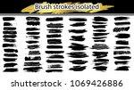 large set different grunge... | Shutterstock .eps vector #1069426886