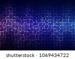 abstract cyber space... | Shutterstock .eps vector #1069434722
