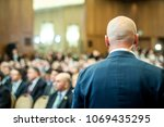 security guard standing in the...   Shutterstock . vector #1069435295
