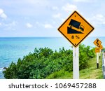 traffic signs for security | Shutterstock . vector #1069457288
