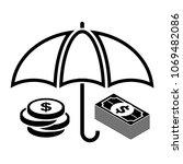 business insurance icon | Shutterstock .eps vector #1069482086
