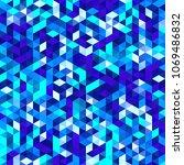 polygonal vector mosaic ... | Shutterstock .eps vector #1069486832