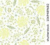 fashionable seamless pattern...   Shutterstock . vector #1069489682