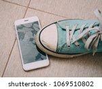 Broken Screen Smartphone On Th...