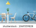 minimal  modern interior with... | Shutterstock . vector #1069559828