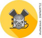 engine  motor  power | Shutterstock .eps vector #1069609712