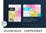 template. creative abstract... | Shutterstock .eps vector #1069620665