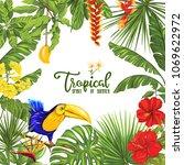 template of poster  banner ... | Shutterstock .eps vector #1069622972