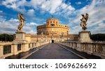 castel sant angelo or mausoleum ... | Shutterstock . vector #1069626692