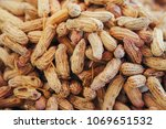 peanuts at retail stores in the ... | Shutterstock . vector #1069651532