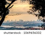 city of istanbul on a cloudy day   Shutterstock . vector #1069656332