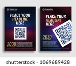 collection of covers with a...   Shutterstock .eps vector #1069689428