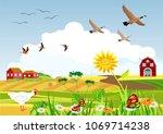 Countryside Vector Illustratio...