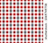 pattern seamless checkered... | Shutterstock .eps vector #1069749758